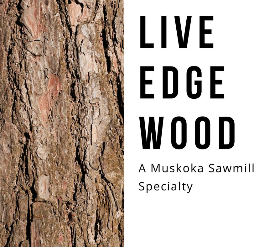 Live Edge Wood, sawmill